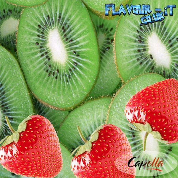 Capella Kiwi Strawberry With Stevia Flavour Drops